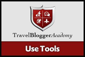 Travel Blogger Academy - Use Tools